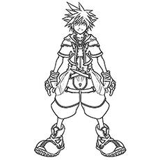 Kingdom Hearts coloring #20, Download drawings