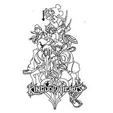 Kingdom Hearts coloring #6, Download drawings
