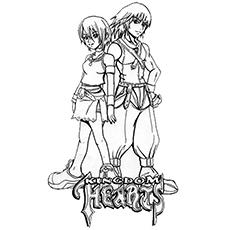 Kingdom Hearts coloring #2, Download drawings
