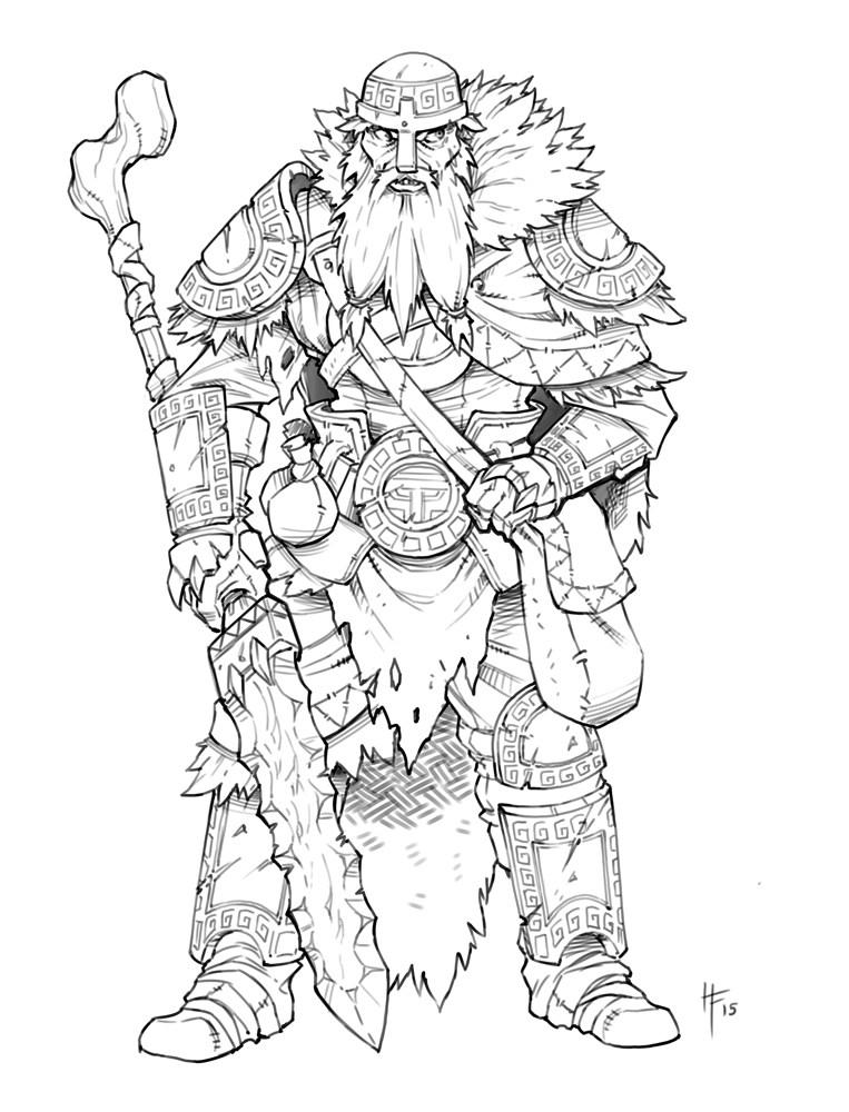 Kings Of War coloring #6, Download drawings