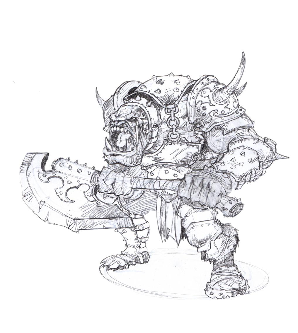 Kings Of War coloring #2, Download drawings