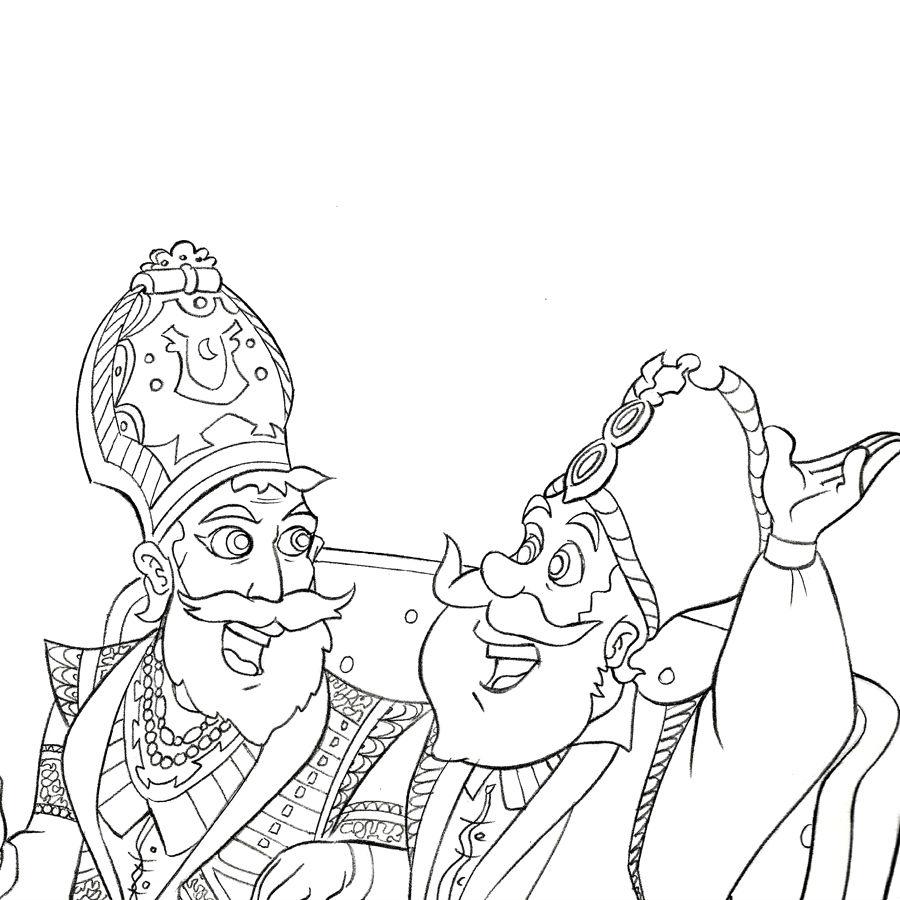 Kings Of War coloring #4, Download drawings