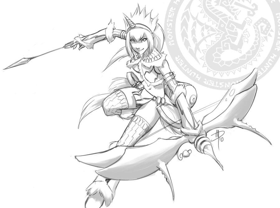 Kirin (Monster Hunter) coloring #2, Download drawings