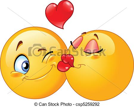 Kissing clipart #14, Download drawings