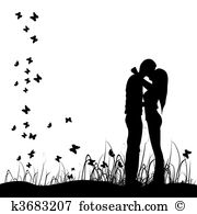 Kissing clipart #15, Download drawings