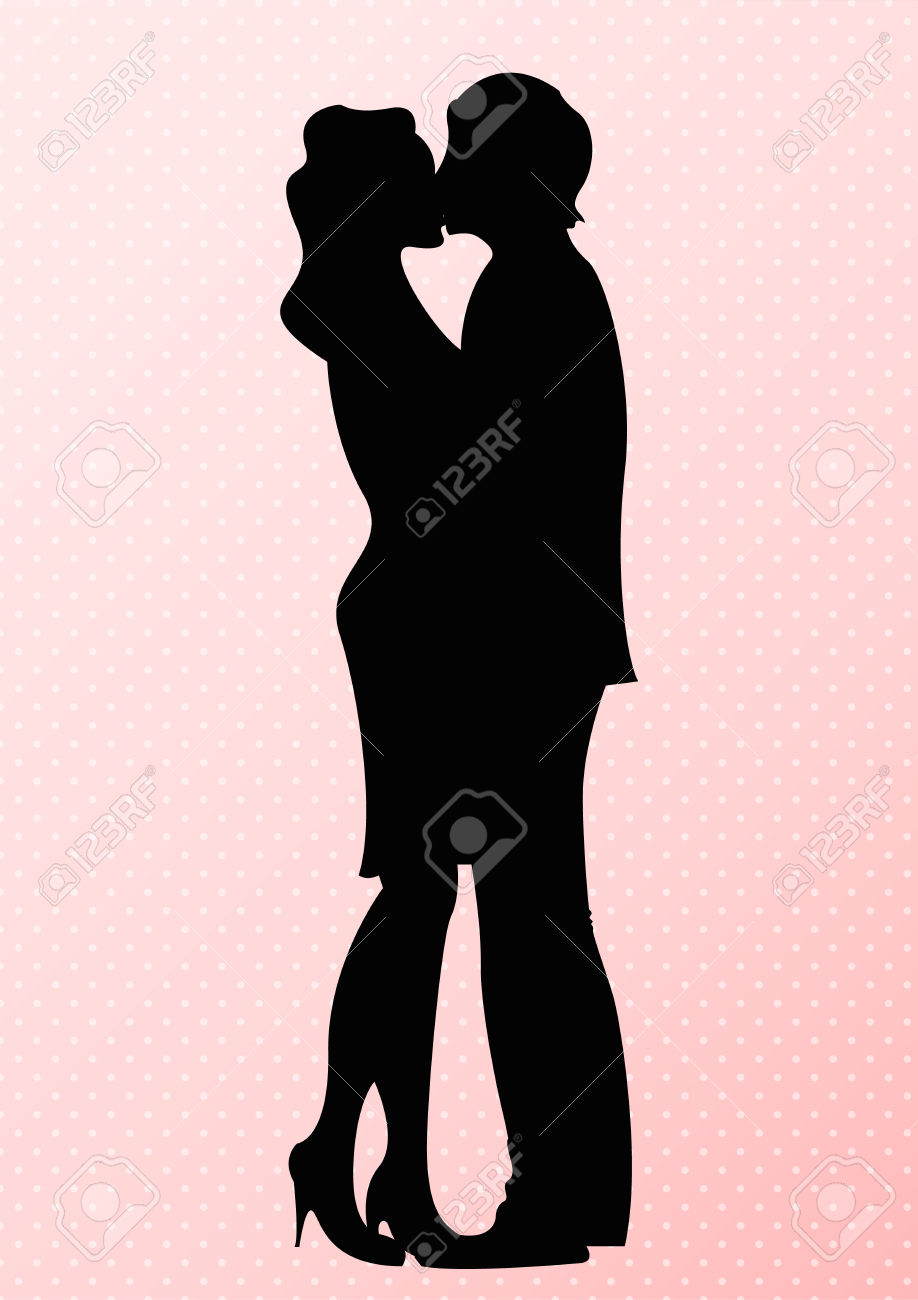 Kissing clipart #5, Download drawings