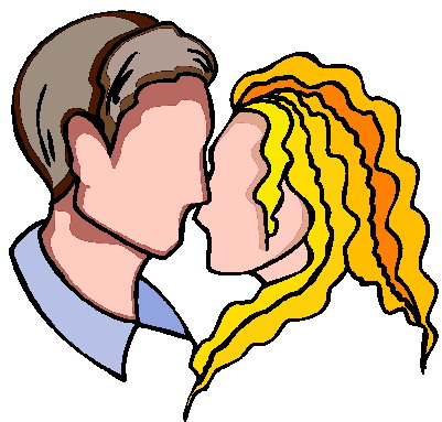 Kissing clipart #4, Download drawings