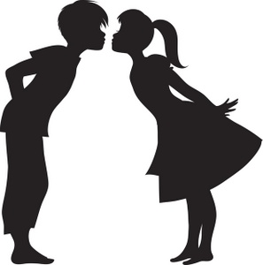 Kissing clipart #16, Download drawings