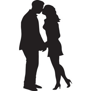 Kissing clipart #17, Download drawings