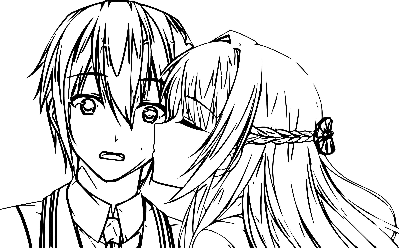 Kissing coloring #5, Download drawings