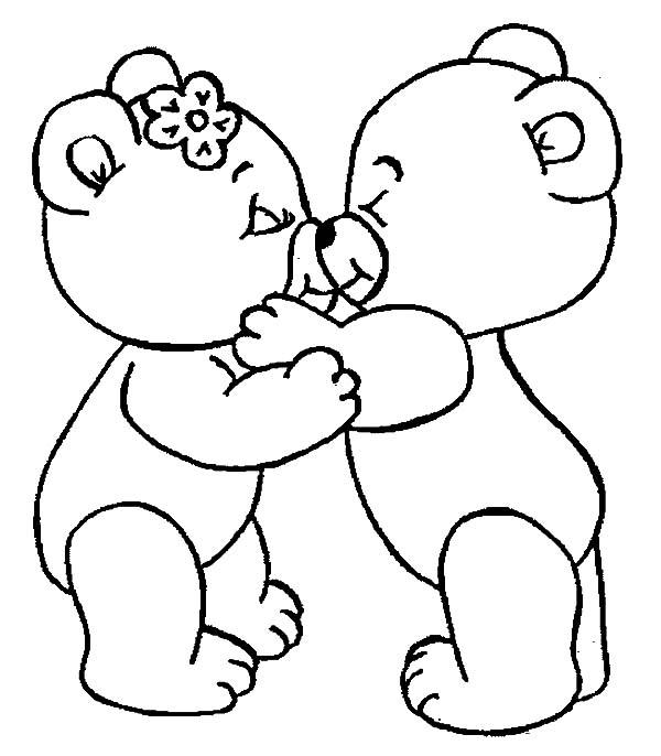 Kissing coloring #13, Download drawings