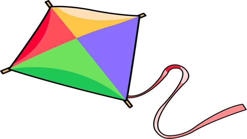 Kite clipart #6, Download drawings