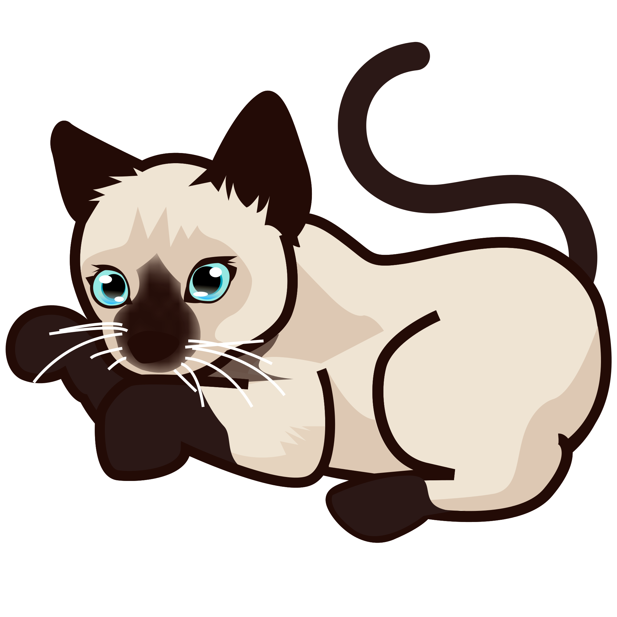 Kitten svg #2, Download drawings