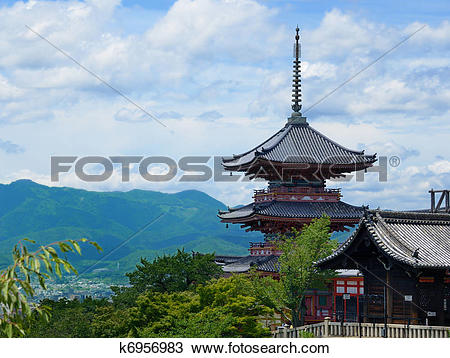 Kiyomizu-dera clipart #7, Download drawings