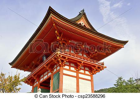 Kiyomizu-dera clipart #3, Download drawings