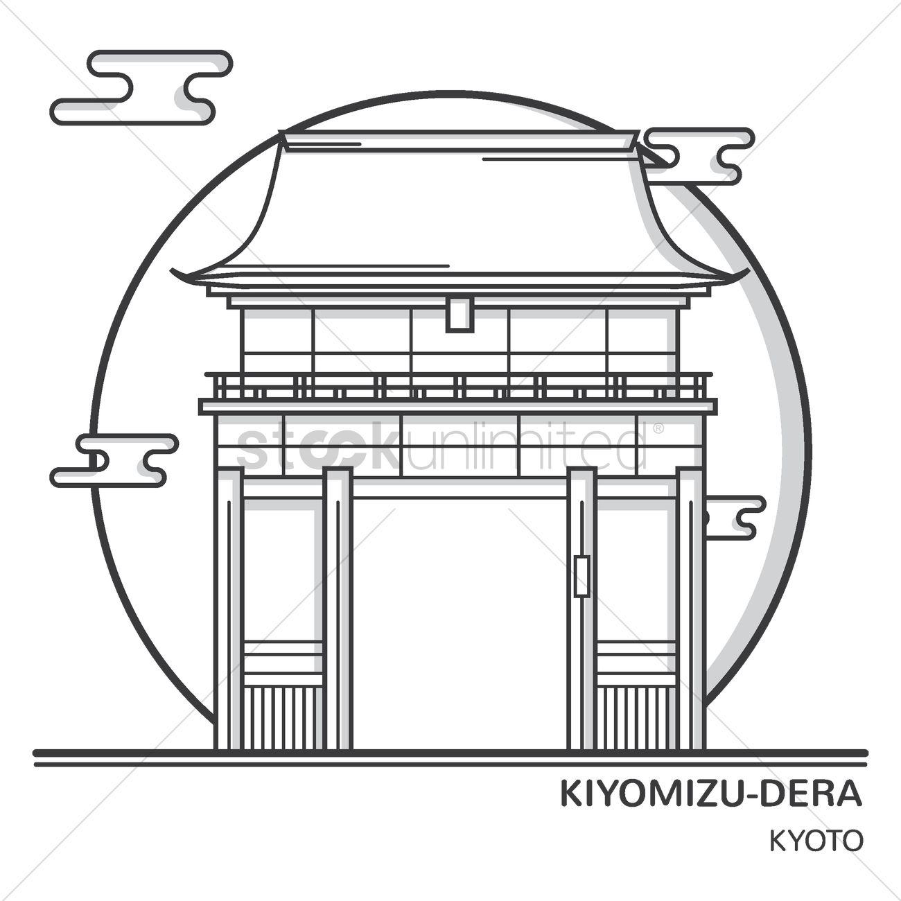 Kiyomizu-dera svg #16, Download drawings