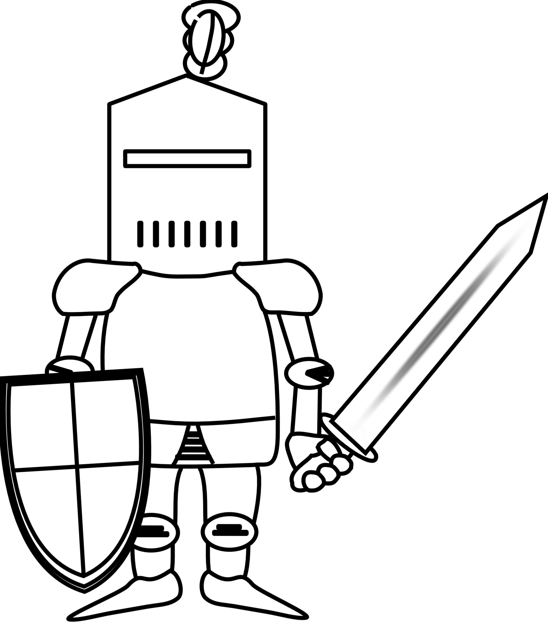 Knight clipart #3, Download drawings