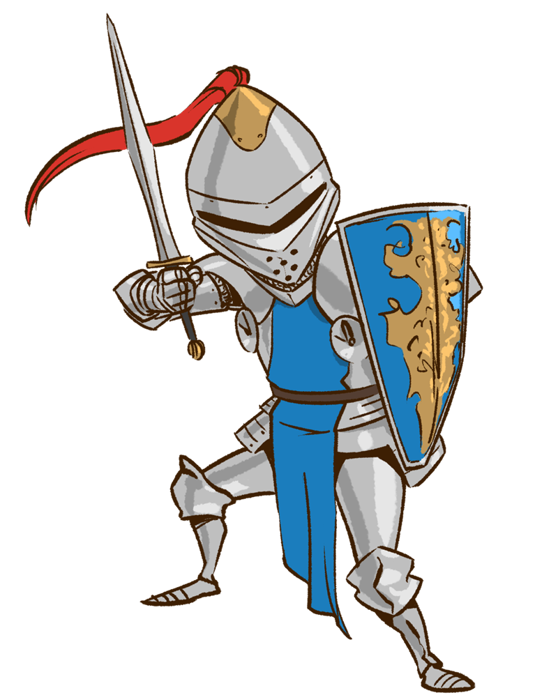 Knight clipart #2, Download drawings