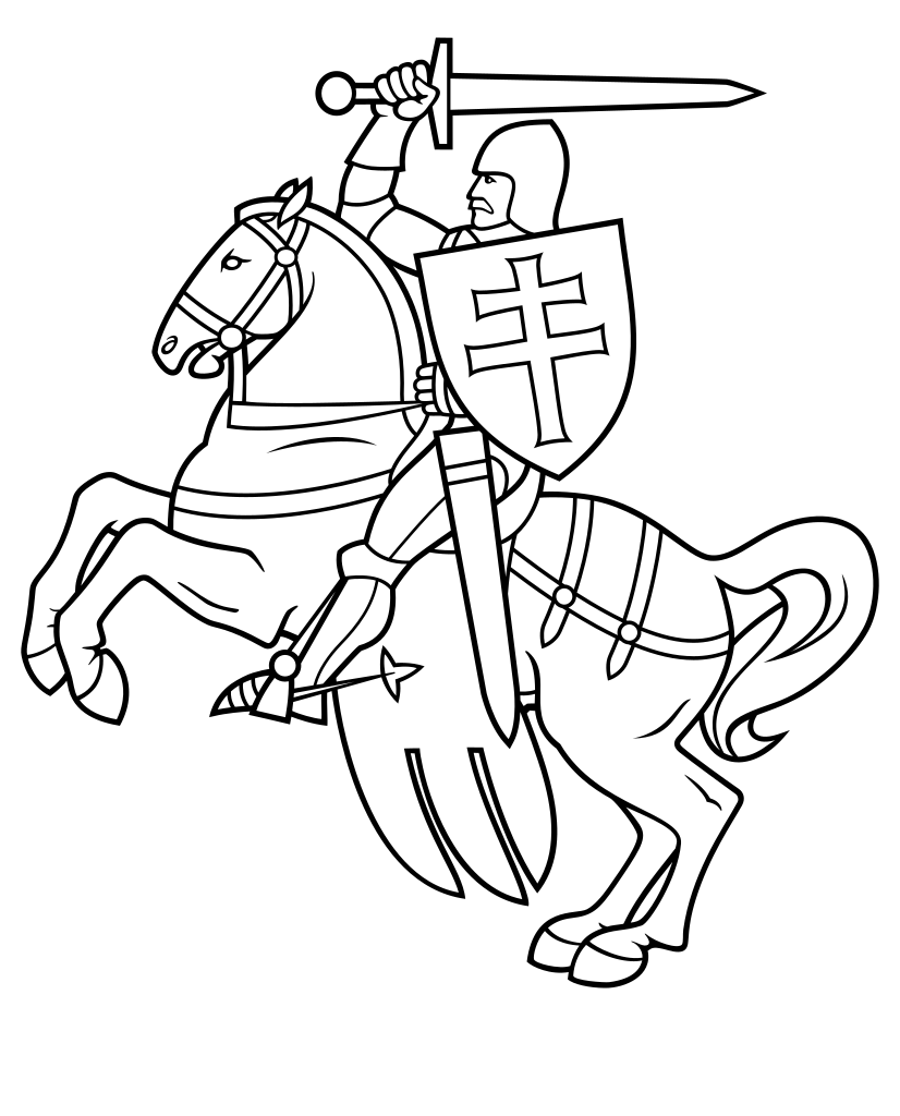 Knight svg #489, Download drawings