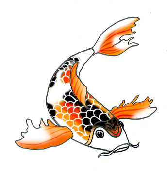Koi clipart #9, Download drawings