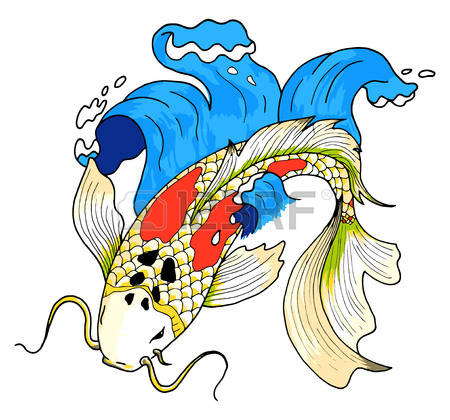 Koi clipart #12, Download drawings