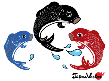 Koi clipart #7, Download drawings