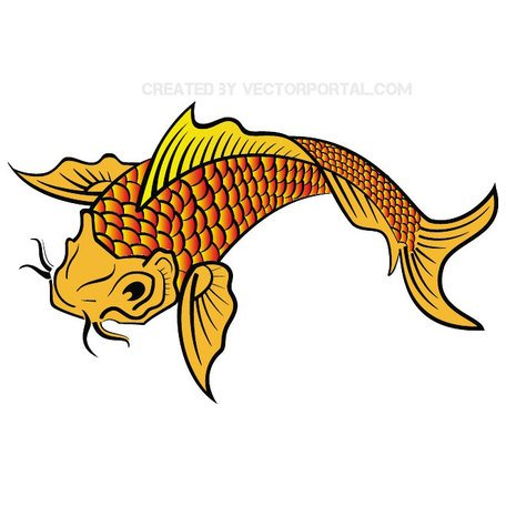 Koi clipart #6, Download drawings
