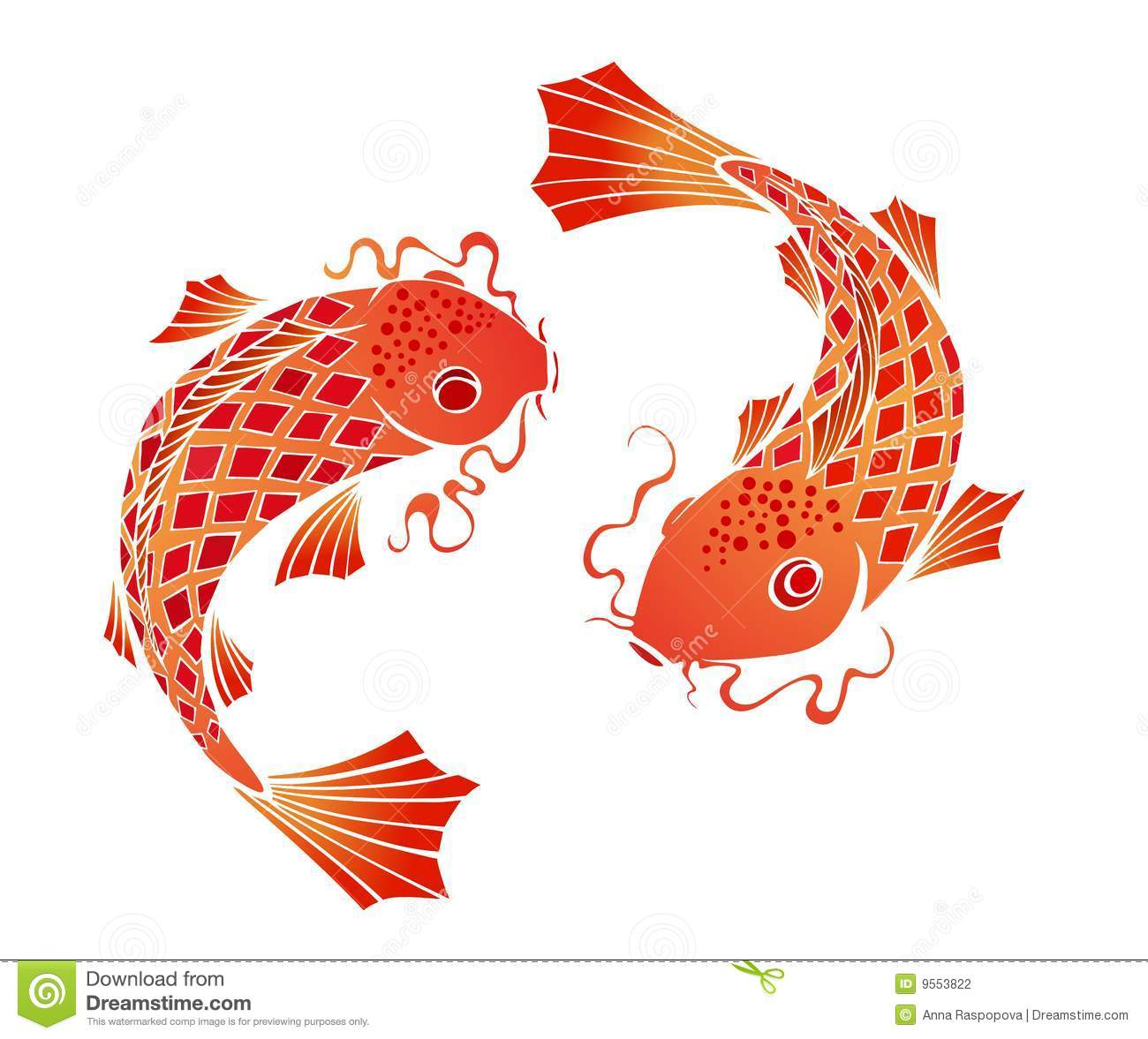 Koi clipart #17, Download drawings