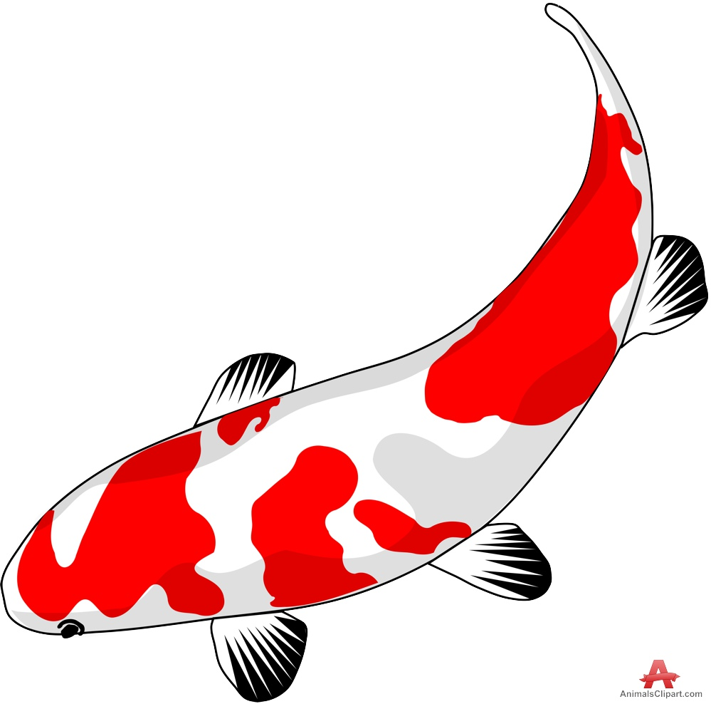 Koi clipart #2, Download drawings