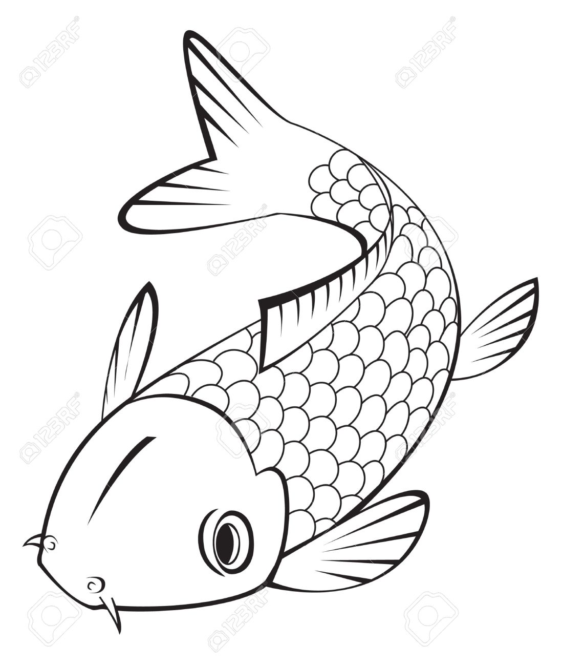 Koi Fish clipart #17, Download drawings