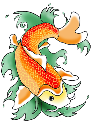 Koi Fish clipart #6, Download drawings