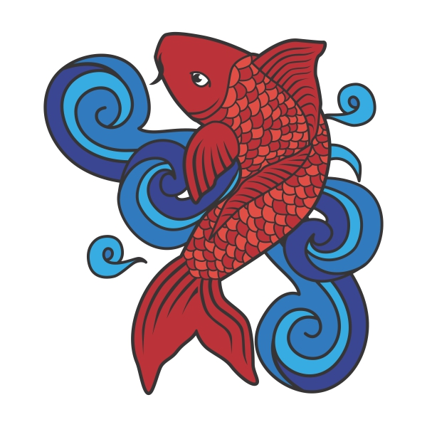 Koi Fish svg #9, Download drawings