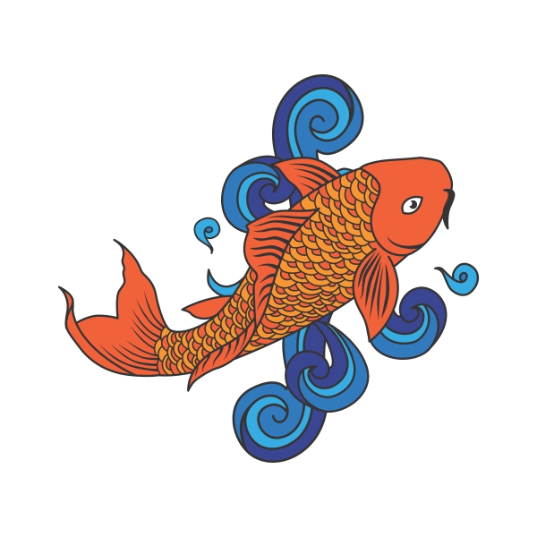 Koi Fish svg #13, Download drawings