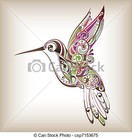 Kolibri clipart #4, Download drawings