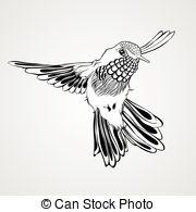 Kolibri clipart #2, Download drawings