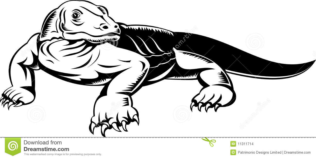 Monitor Lizard clipart #18, Download drawings