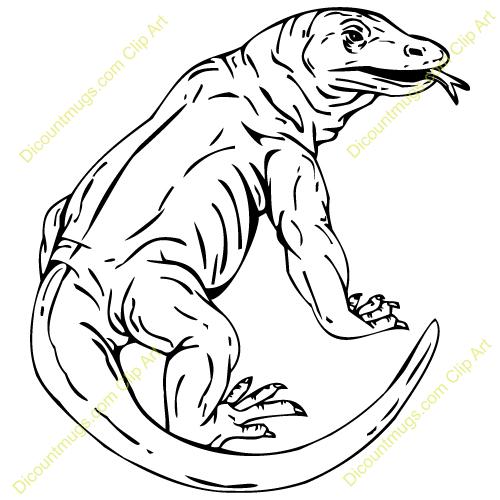 Komodo clipart #11, Download drawings