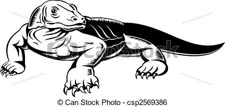Komodo Dragon clipart #7, Download drawings