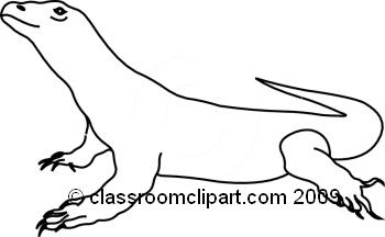 Komodo clipart #13, Download drawings