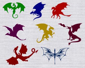 Megenta The Dragon svg #19, Download drawings