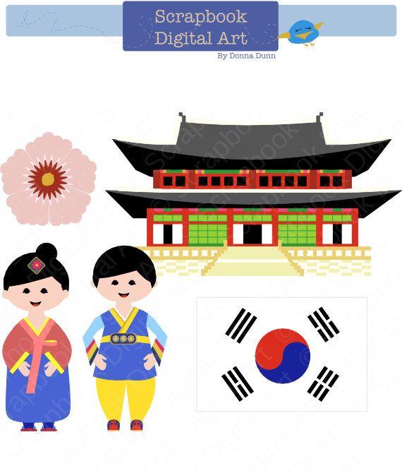 Korea clipart #7, Download drawings