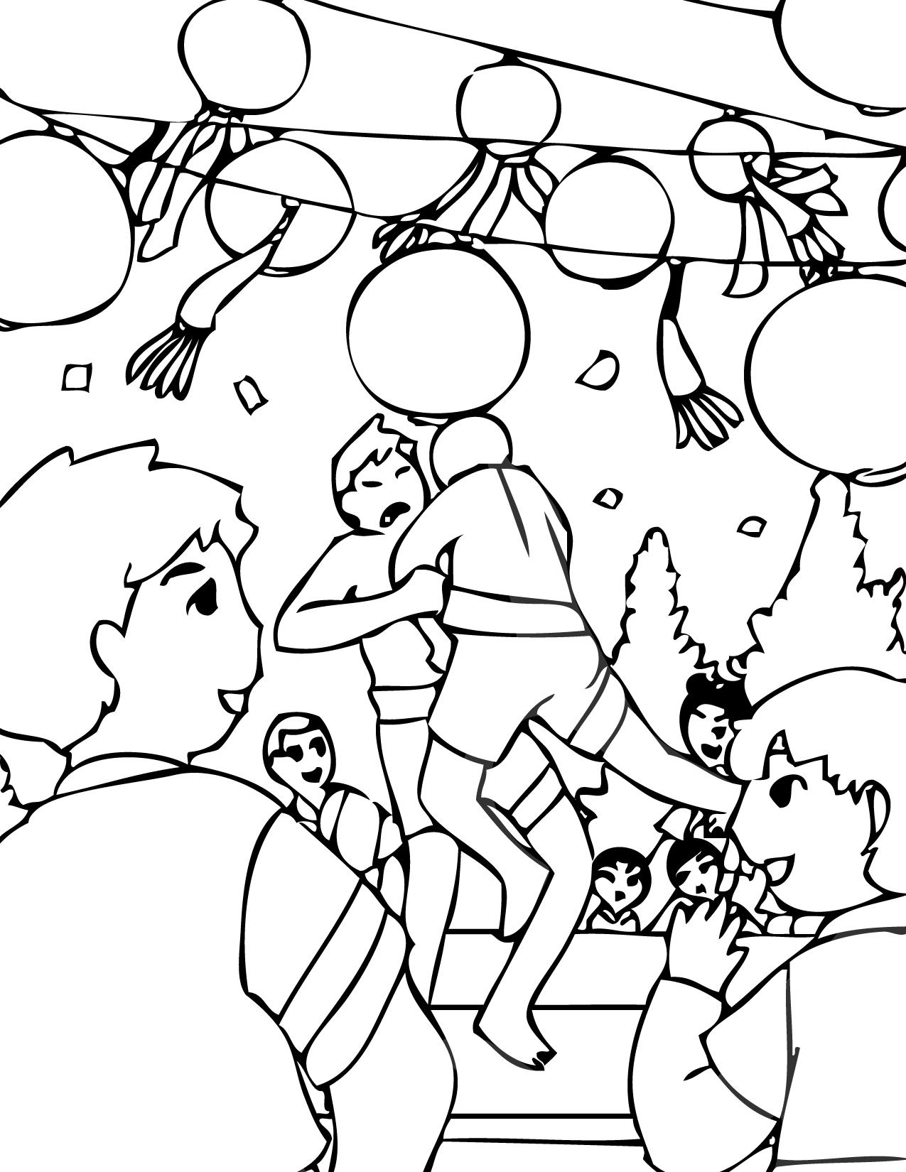 Korean coloring #7, Download drawings