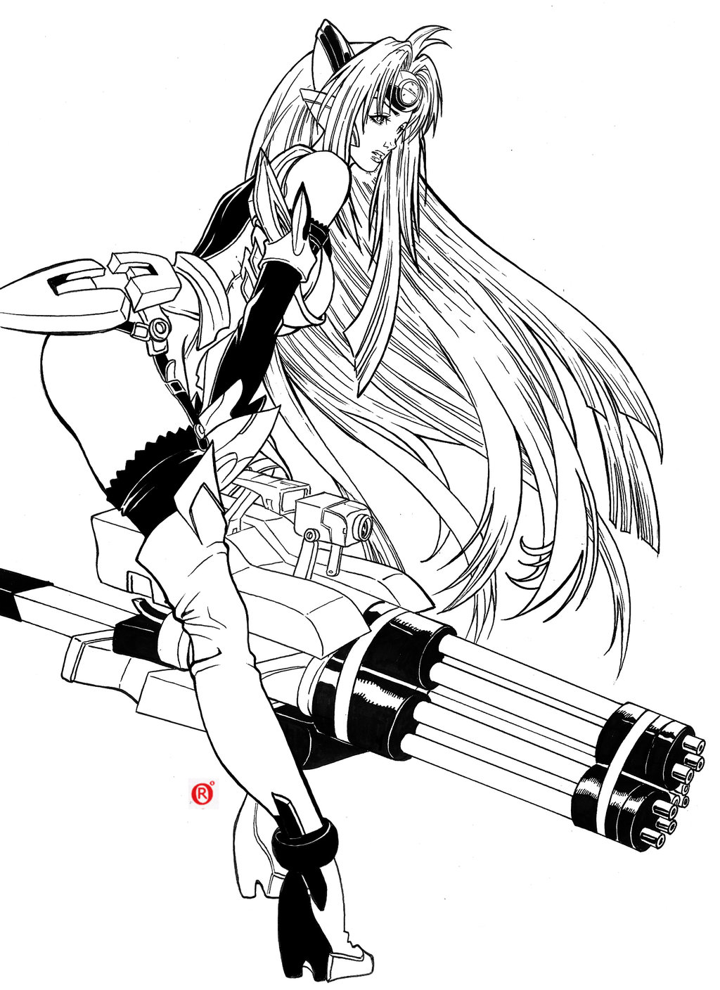 Kos Mos coloring #12, Download drawings