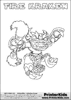 Kraken coloring #11, Download drawings