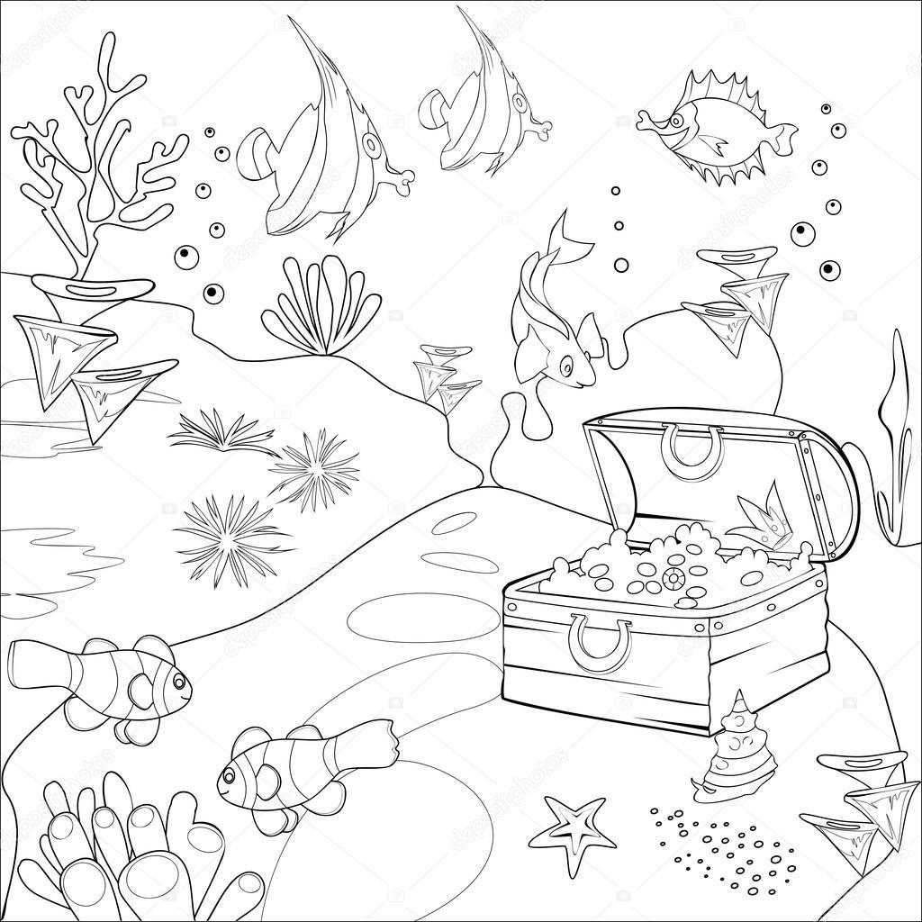 Krajobraz coloring #14, Download drawings