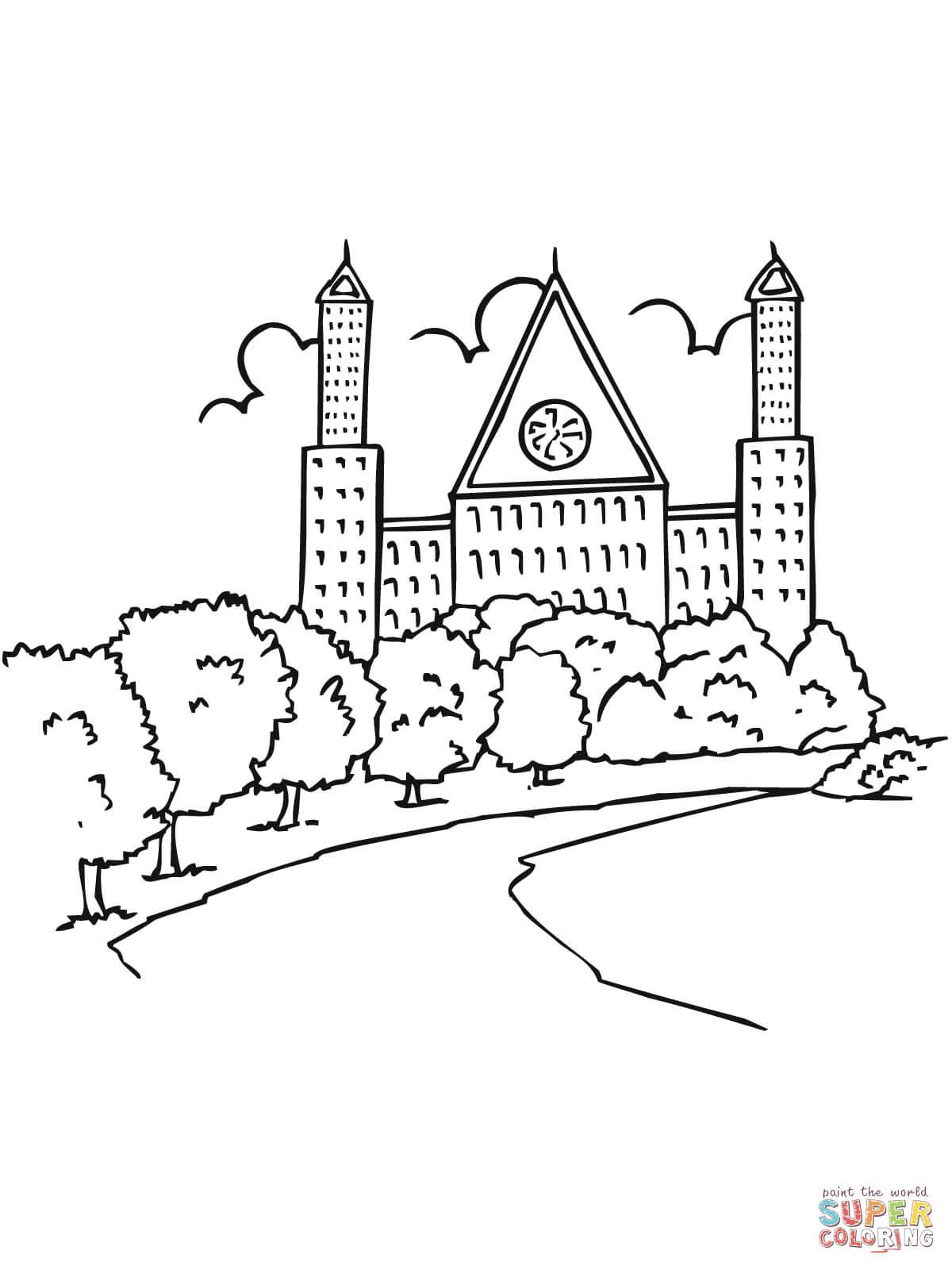 Krajobraz coloring #9, Download drawings