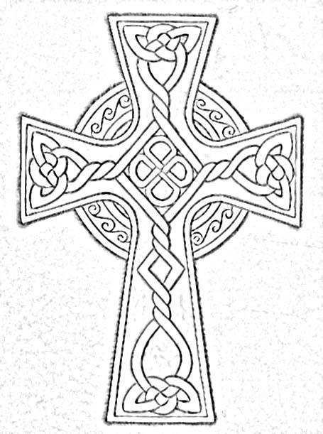 Kreuz Coloring Download Kreuz Coloring