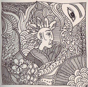 Kriegerin coloring #4, Download drawings