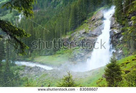 Krimml Waterfalls clipart #3, Download drawings