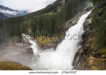 Krimml Waterfalls clipart #5, Download drawings
